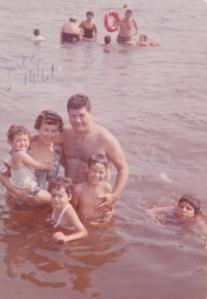 My family and friends in Kauneonga Lake.