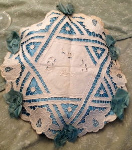 Matzah cover made by my Great Grandmother Chava.