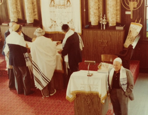 Inside Shul in Kauneonga Lake