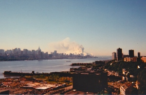 A photo taken by my father on 9/11.