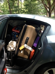 My nephew's car before he left for Indiana.