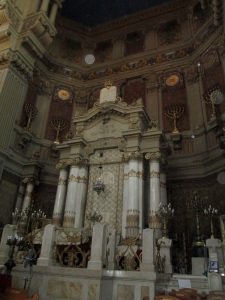 The Great Synagogue in Rome, Italy