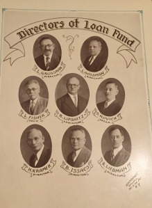 My great grandfather top right.
