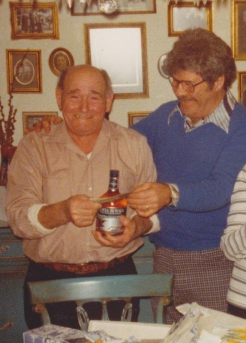 Grandpa and Schnapps