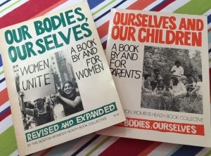 My original Our Bodies, Ourselves Books