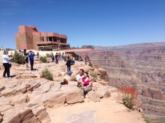 The Skywalk over the West Rim.