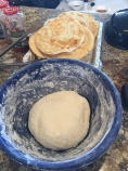 The fry bread dough